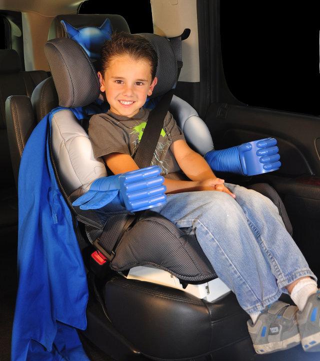 *兒童救星!:蝙蝠俠安全座椅時時刻刻保護你! 3