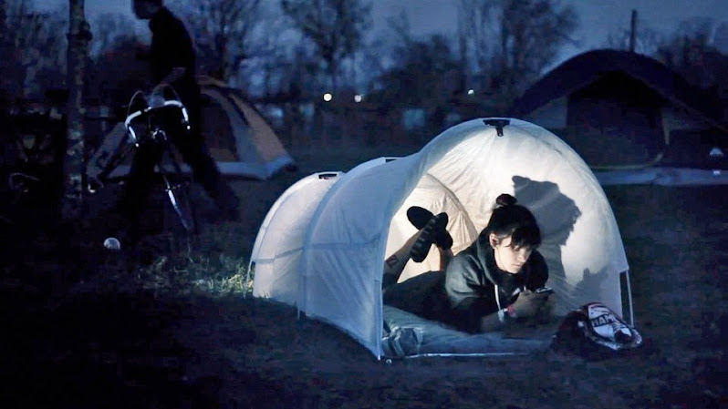 *垃圾袋帳篷Trash Bag Tent:GLAD綠色環保新設計! 2