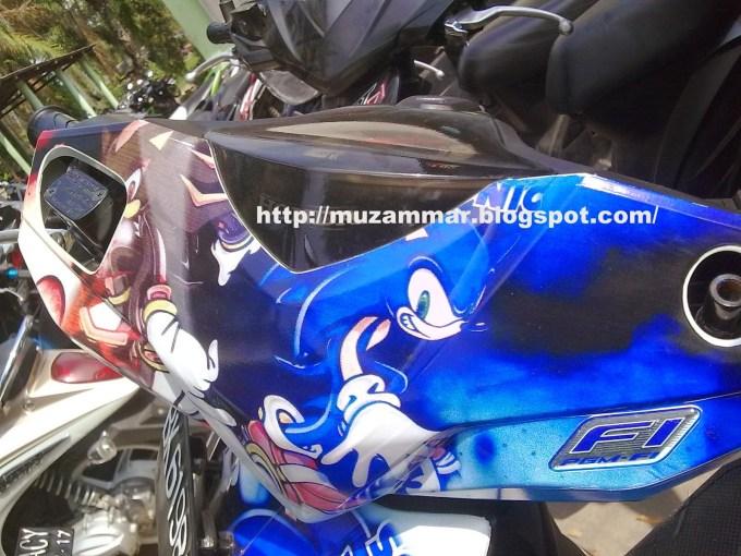 Modifikasi Honda Beat Fi Warna Hijau Motorwallpapersorg
