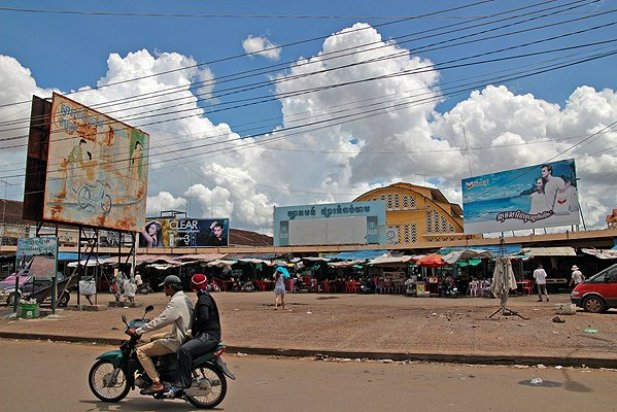 kampong cham market