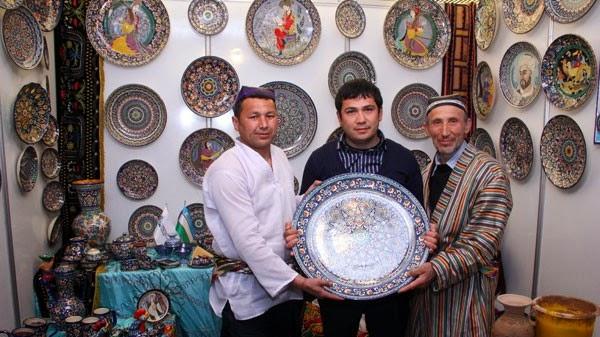 ремесленники Ташкента