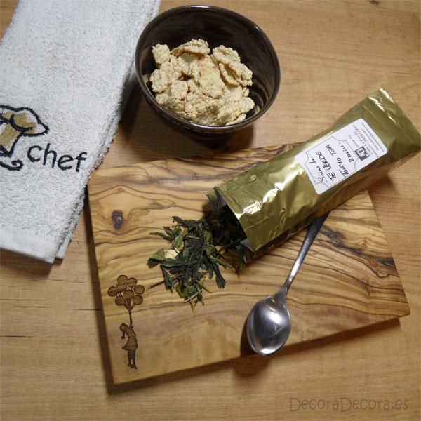 Decorativa tabla de cocina