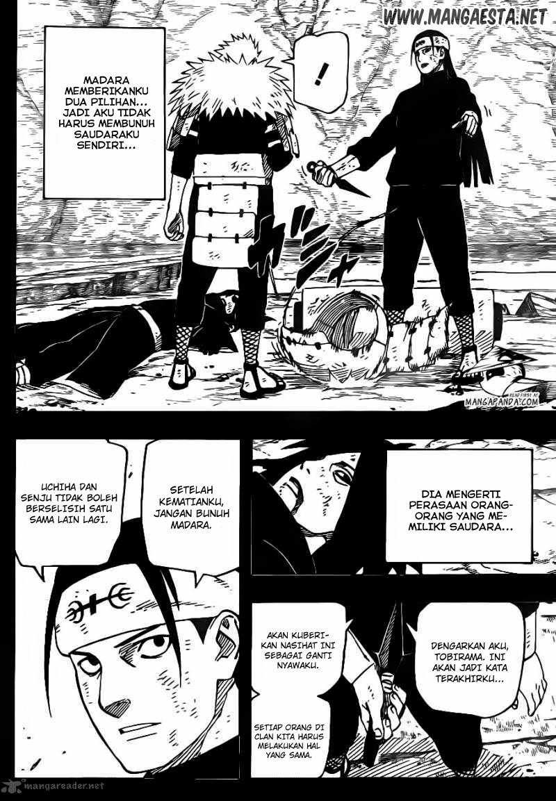628 Naruto 625   Mimpi yang Nyata