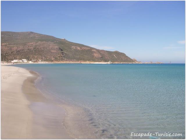 Tunisie El Haouaria plage & montagne