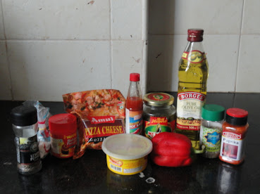 Eggless Savoury Muffins and Sin-a-mon (1/6)
