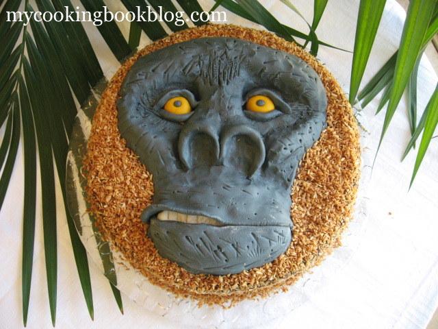 Торта с горила