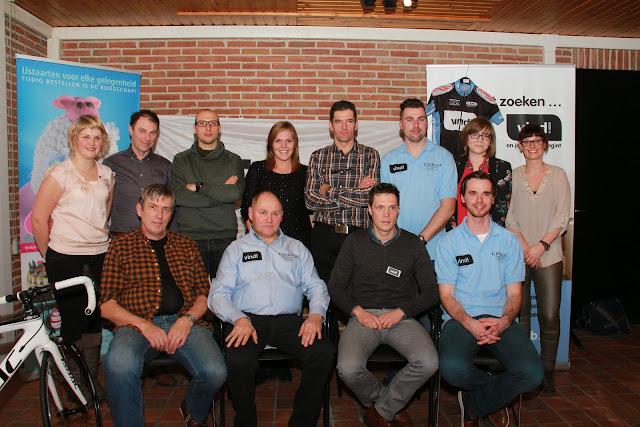 de medewerkers van Vind Cycling Project