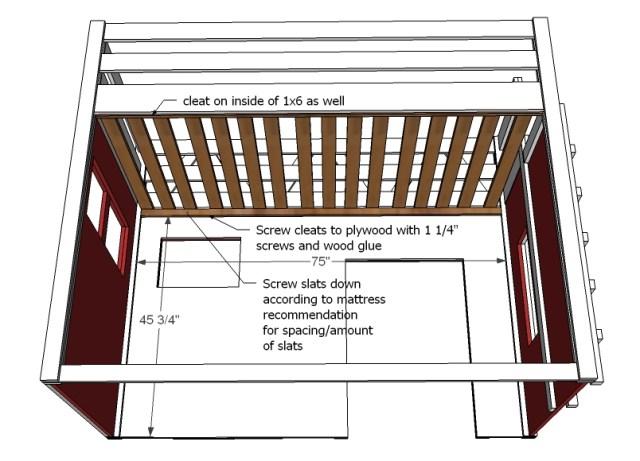 PDF DIY Loft Bunk Bed Diy Download loft bed plans