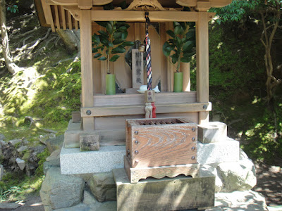 Tiny shrine is adorable!