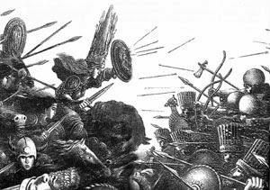 Битва массагетов на плато Устюрт