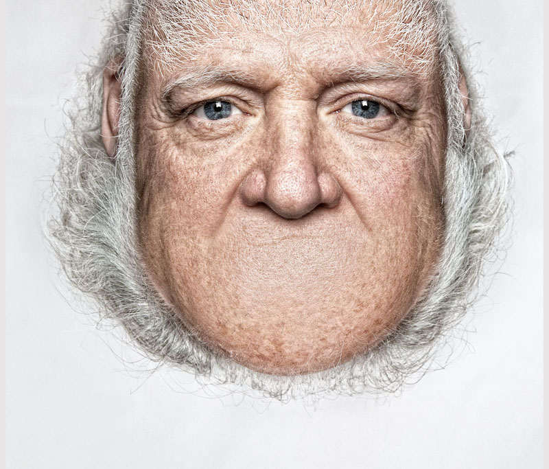 *THORSTEN SCHMIDTKORD有趣攝影系列 Head on Top :「親愛的 我的頭!?」 9