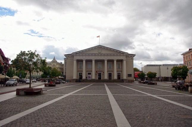 Ayuntamiento de Vilna, Vilnius