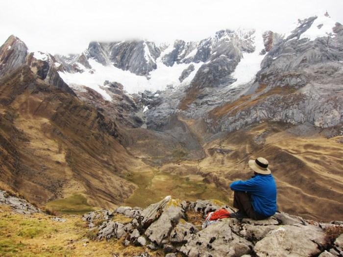 from the Huayhuash trek