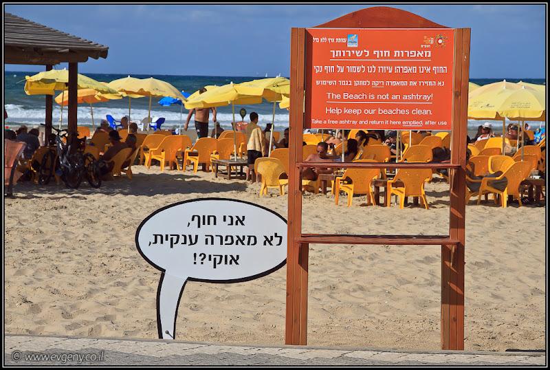 Одно фото / Израиль, Тель Авив, חוף מציצים