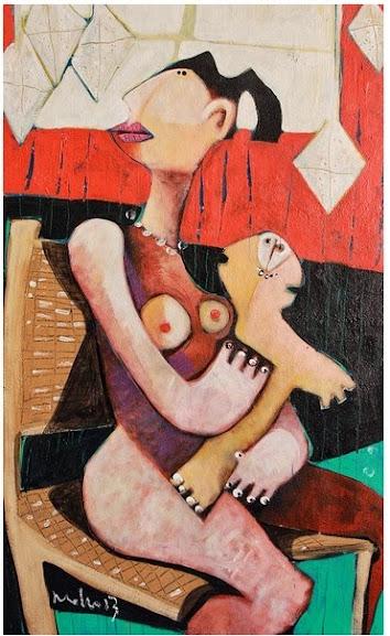 Genitrix Nº6 - Mark M Mellon - Maternidade em obras de arte