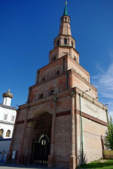 Kremlin de Kazán. Torre Siuyumbiké