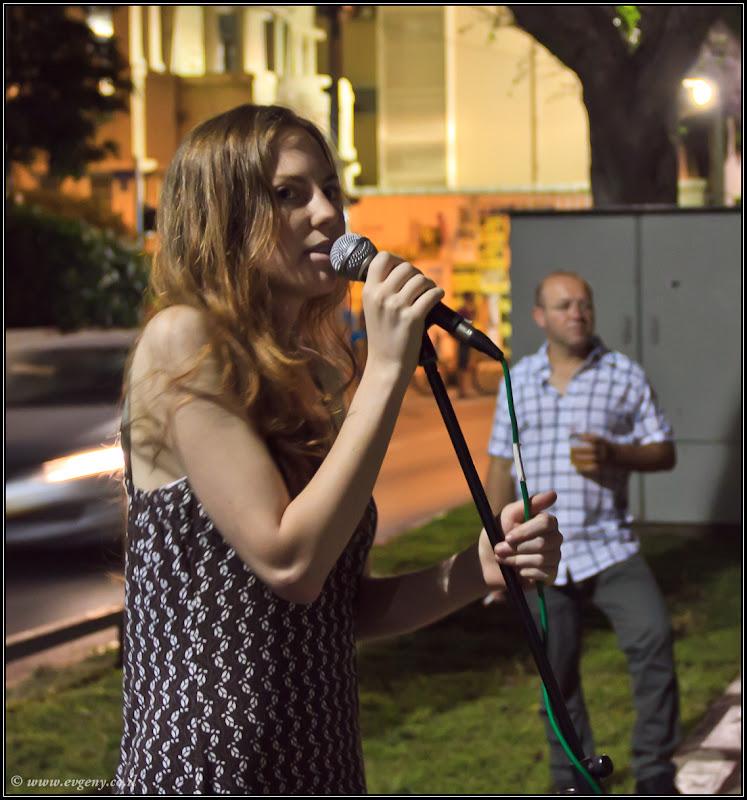 Фото: Тель Авив: Белая ночь