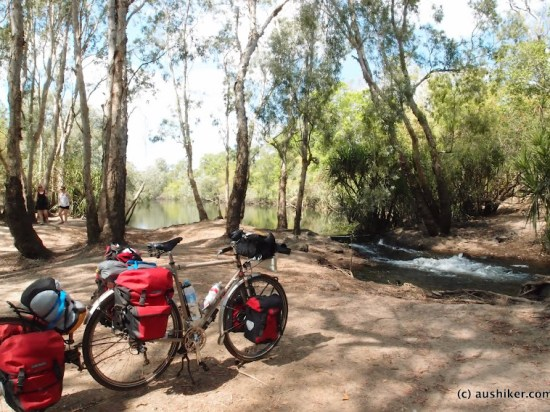 At lunch - Finniss River, Litchfield Park Road