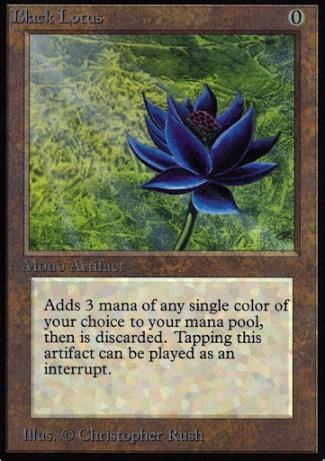 Black Lotus, de Magic the Gathering