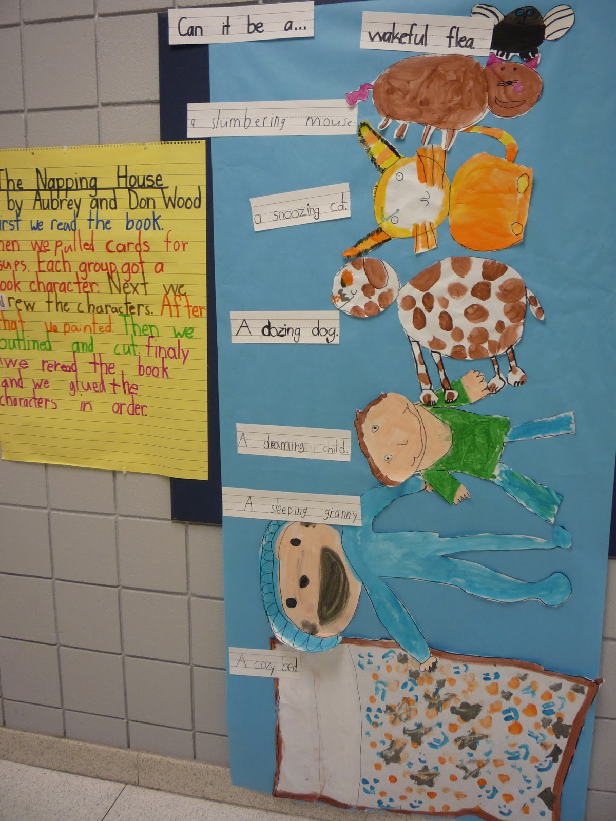 Kindergarten The Napping House Worksheet Kindergarten
