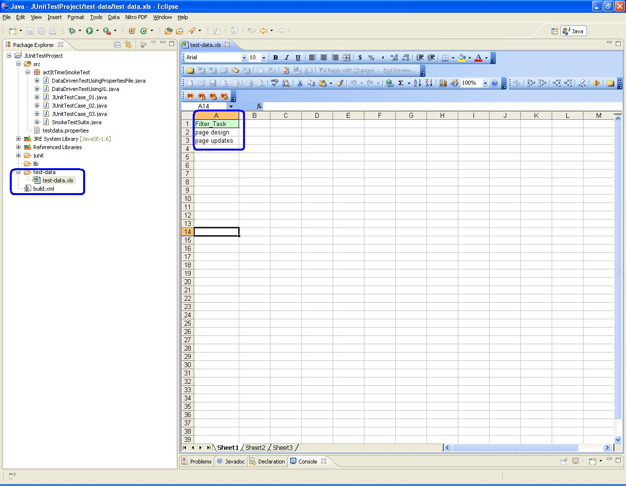 Selenium Automation Testing Data Driven Test Using Excel File