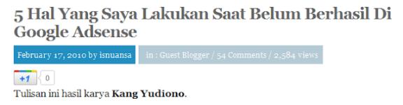 Guest Blogger Salah Author
