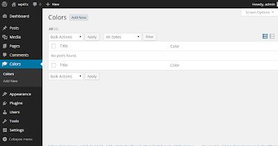 Define Custom Columns of Post Listing Table