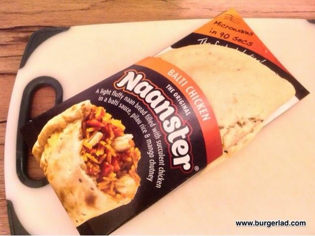 Naanster Snack Range Non Burger Review