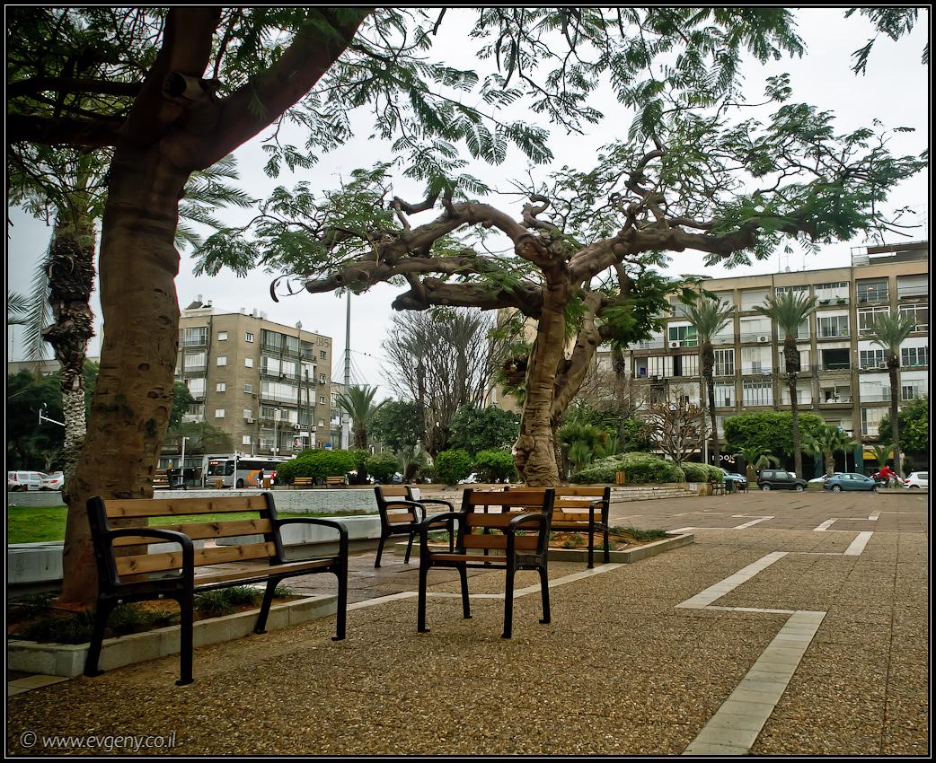 Израиль, Тель Авив, площадь Рабина
