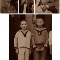 Exclusive pic#38 Sailor suit boys Flensburg  1920s