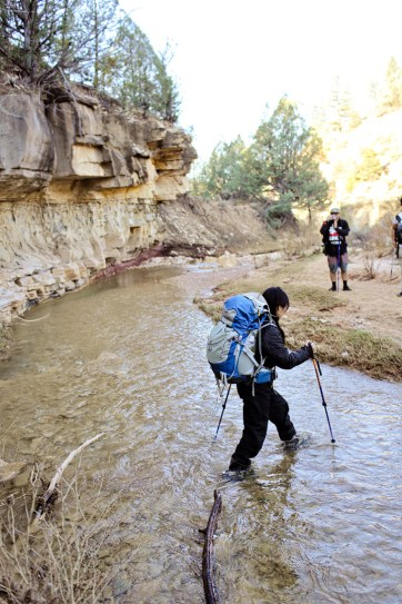 Day 1 of the Narrows Hike Zion.