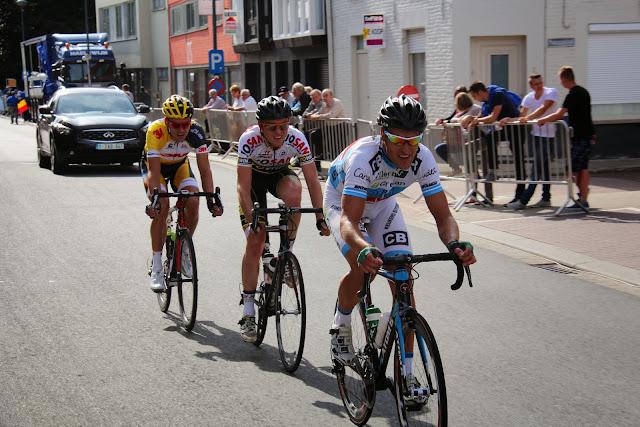 kopgroep van 3 renners