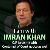 I am with Imran Khan