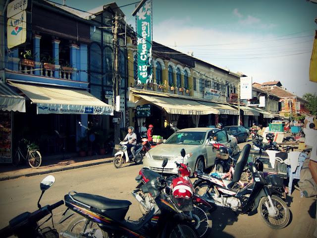Siem Reap around the Old Market