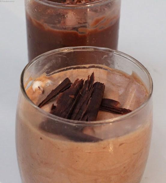 无蛋巧克力慕斯食谱简单冷冻琼脂琼脂