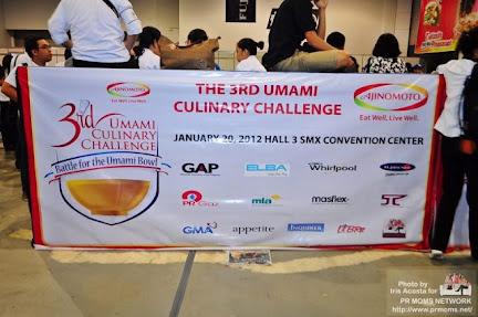 3rd Umami Culinary Challenge