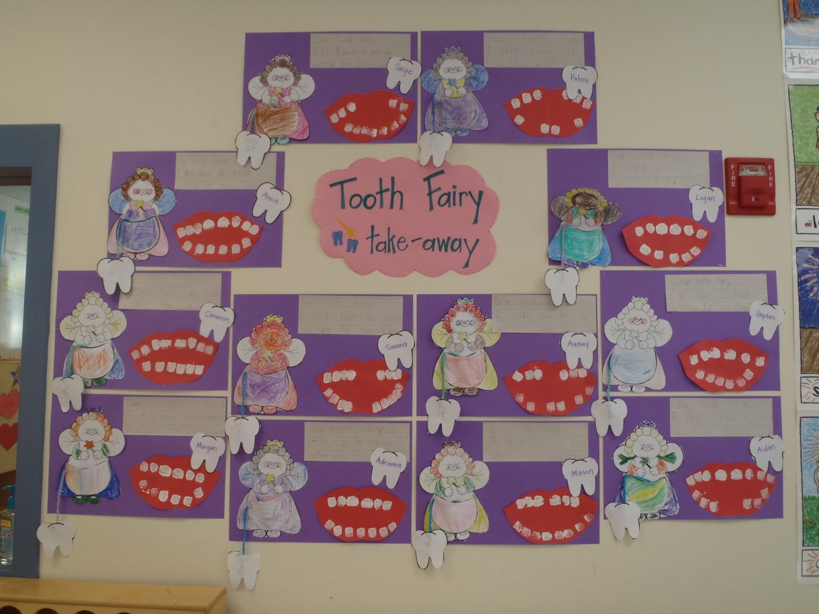 Little Miss Glamour Goes To Kindergarten Tooth Fairy Take