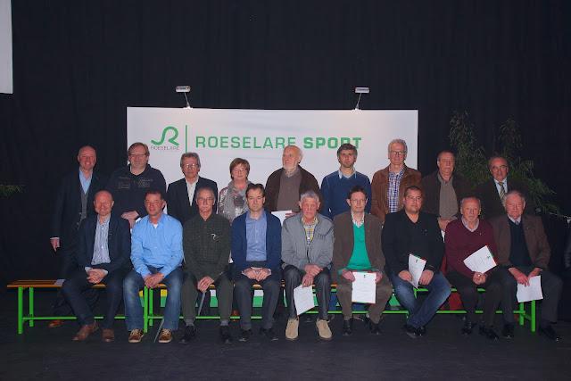 sporthuldigingen in Roeselare met oa Arne Nollet