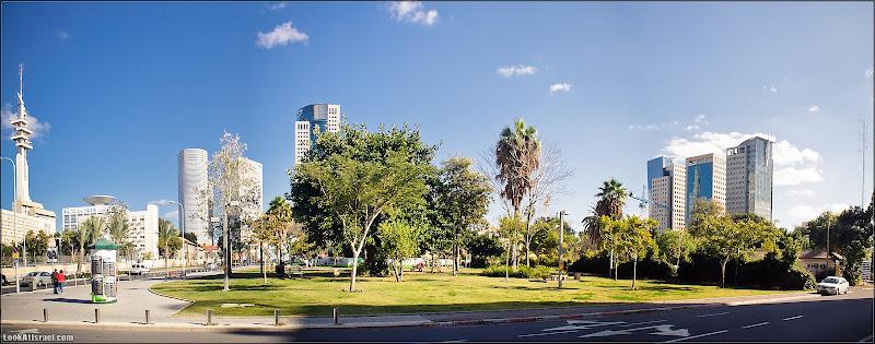 Панорамный Тель Авив: Сарона