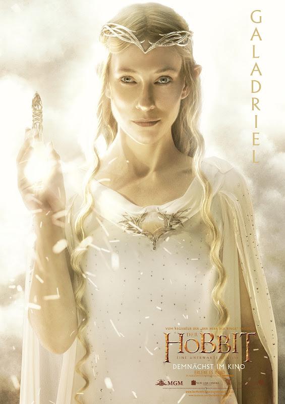 Hobbit - Charakterposter Galadriel