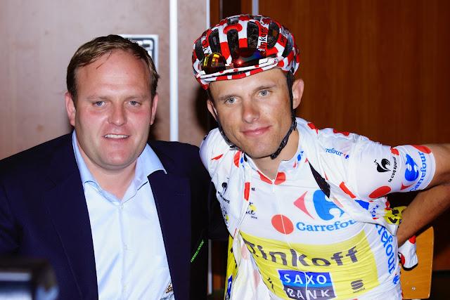 Bjorn Gevaert en Rafal Majka