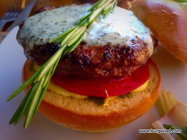 Haché Burgers Rosemary Lamb Burger