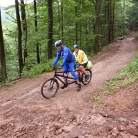 La traversée des Vosges à VTT