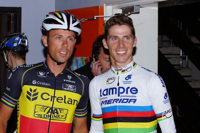 Sven Nys en Rui Costa