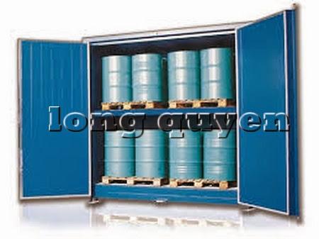 Tủ sắt để bình khí và lỏng ngoài trời E