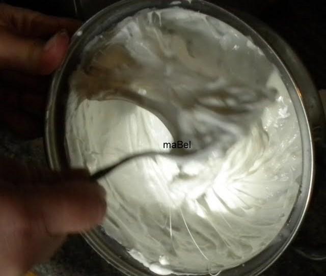Marshmallow Cream Homemade Crema De Malvaviscos