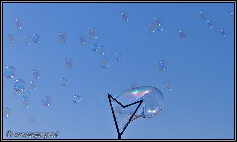 Фото: Тель Авив пускает пузыри
