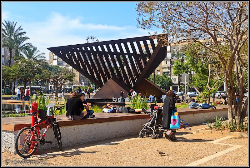 Центральное лежбище Тель Авива