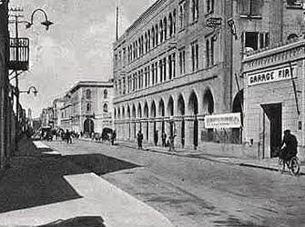 Tripoli: corso Vittorio Emanuele Terzo