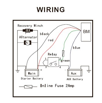 Warn Winch Wiring Diagram 62135 Warn XD9000 Wiring-Diagram